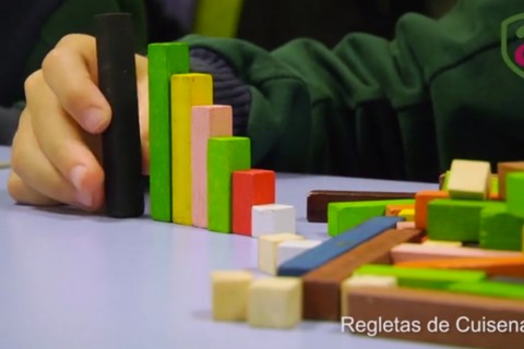 video antana educacion regletas cuisenaire